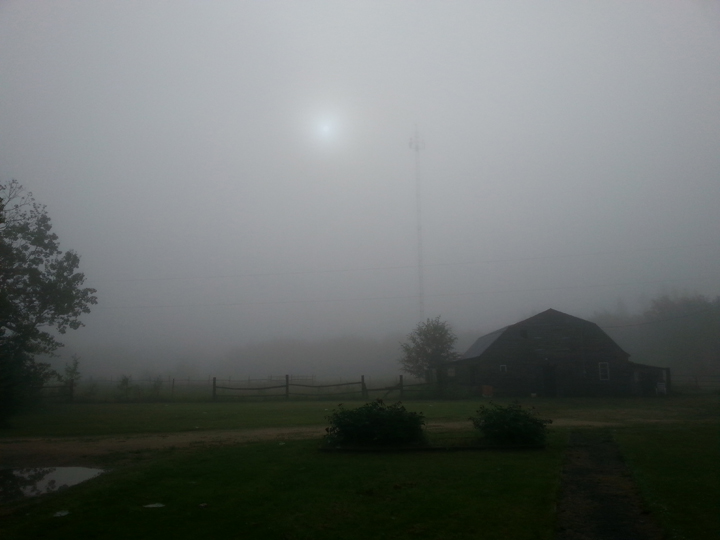 Manitoba Anola fog weather July 17 2015