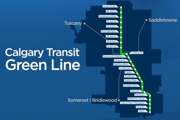 Calgary Transit Green Line