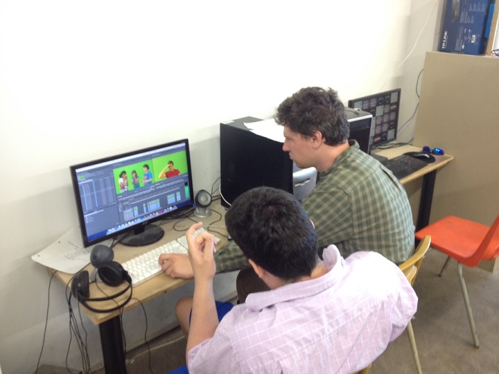 Teenagers within the autism spectrum teaching production skills - image
