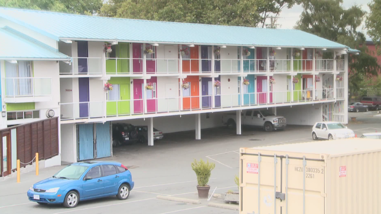 A file photo of Hotel Zed, where Victoria Police have been on scene investigating the sudden death of a toddler on July 18, 2015.
