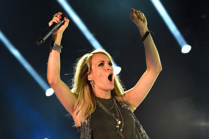 Carrie Underwood, pictured in June 2015.