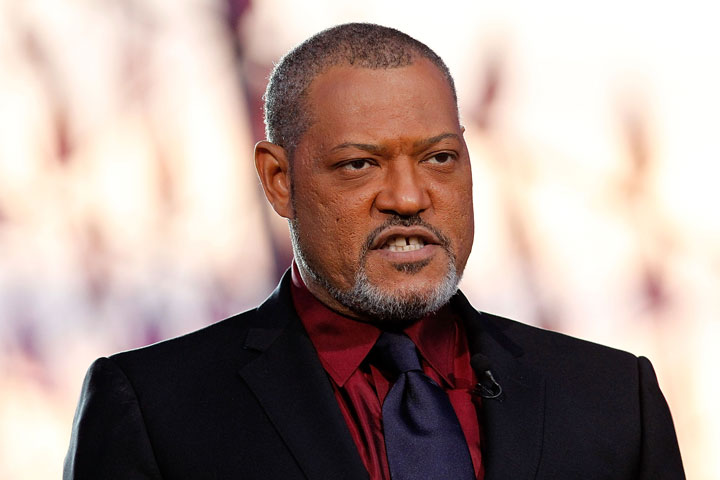 Laurence Fishburne, pictured in May 2015.