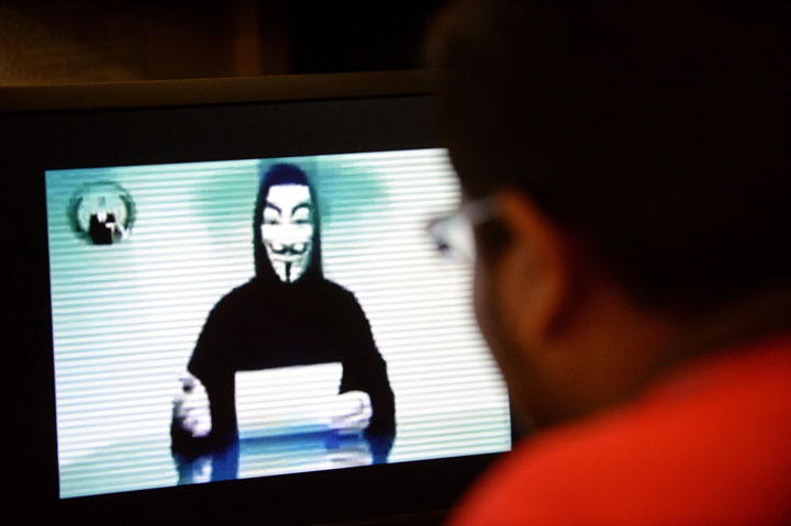 Over the weekend, users claiming to be affiliated with the hacker group posted a small portion of email addresses and phone numbers allegedly belonging to members of the KKK on anonymous information sharing site Pastebin.