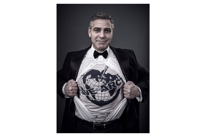 George Clooney is one of the celebrities appearing in the Save the Arctic campaign.