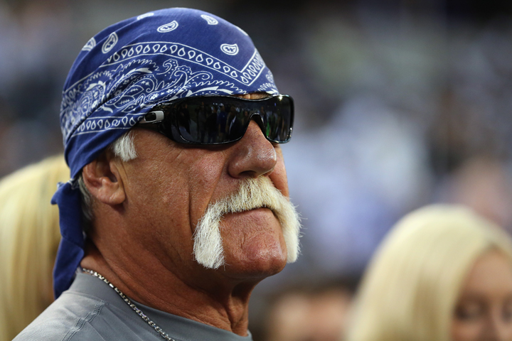 Hulk Hogan, pictured in 2013.