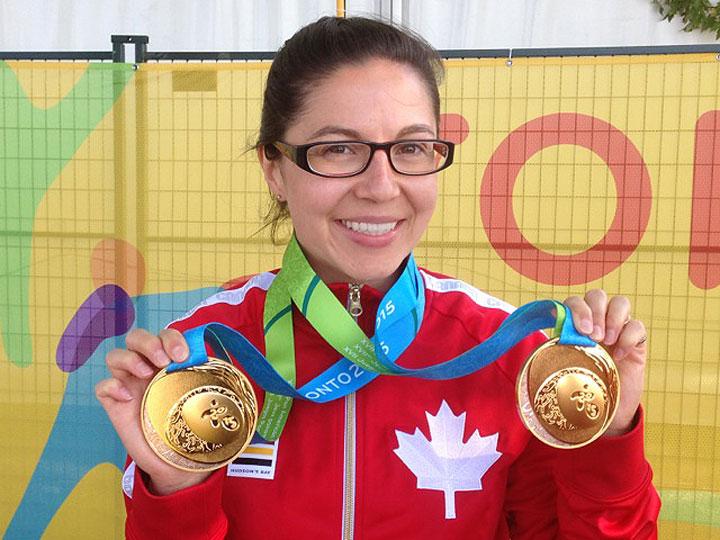 Canada's Lynda Kiejko swept the women's pistol events the Pan American Games after winning the women's 25-metre pistol event Wednesday.