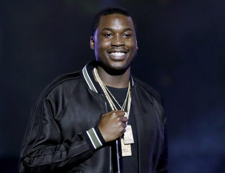 Meek Mill performs at the BET Hip Hop Awards in Atlanta in 2013.