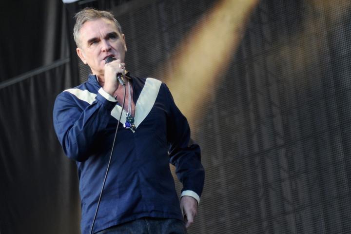 Morrissey, pictured in June 2015.