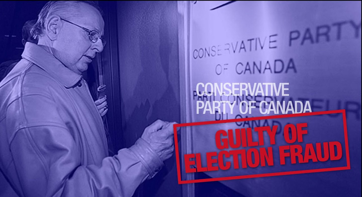 A screencap of an NDP attack ad