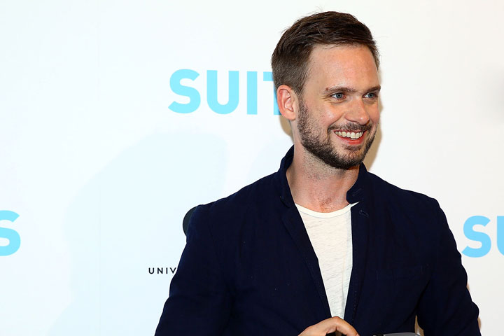 Patrick J. Adams, pictured in January 2015.