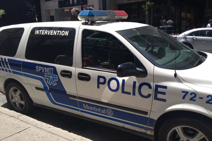 A 28-year-old man is in hospital after being stabbed in the lower body in Montreal's Ville-Marie borough, Monday, August 28, 2017.