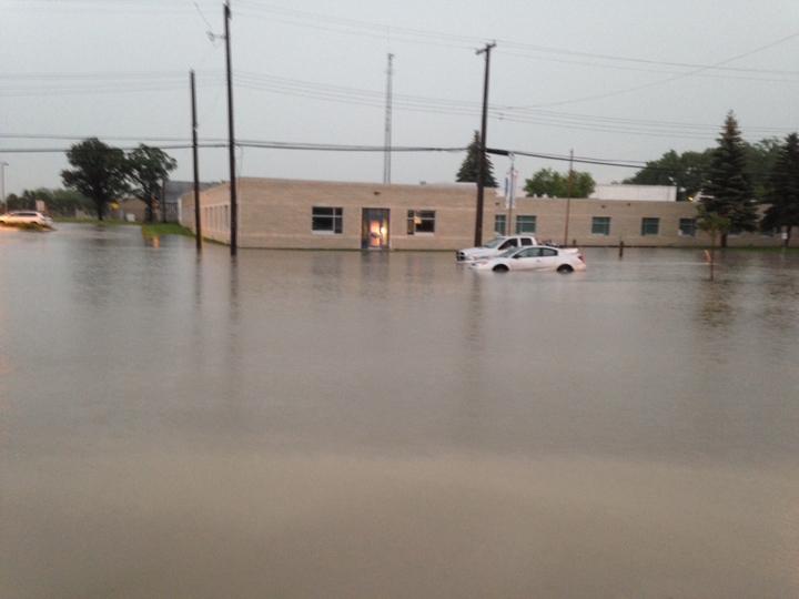 St-Pierre-Jolys Manitoba storm thunderstorm weather