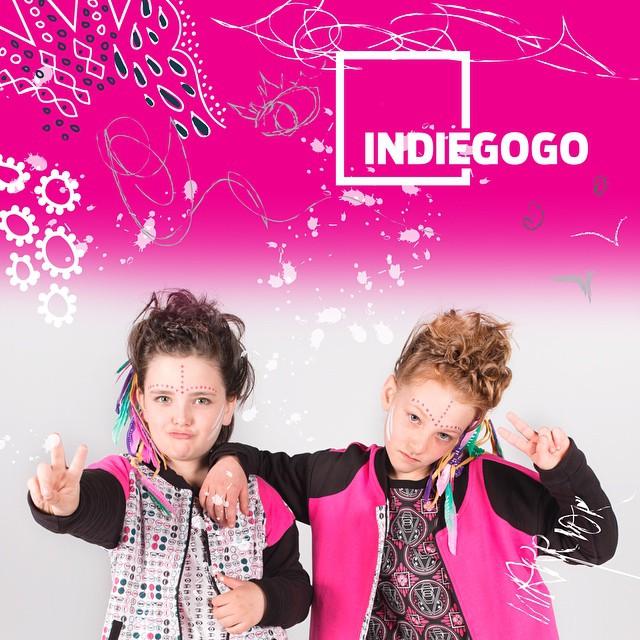 Veena used Indiegogo to raise $15,000