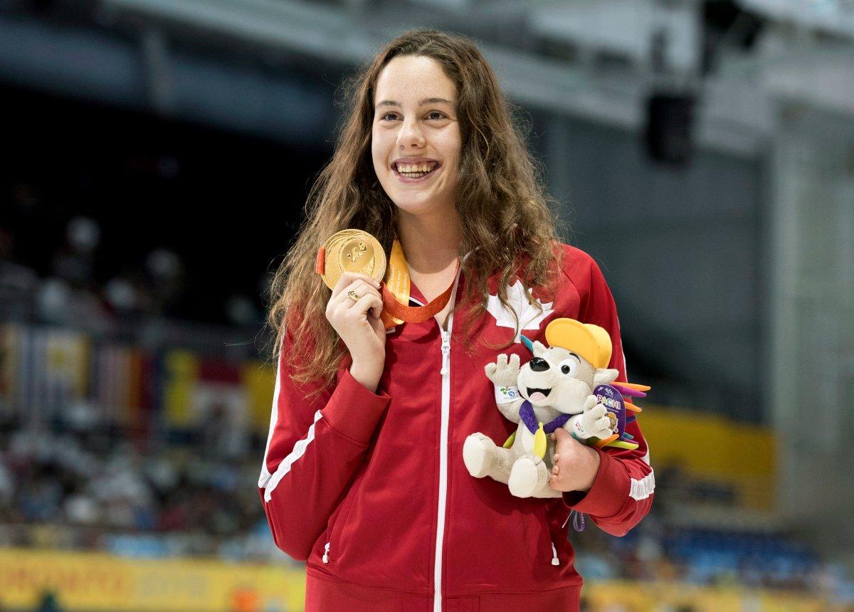 Canada's Aurelie Rivard entering Rio Paralympics as swimmer to beat |  Globalnews.ca