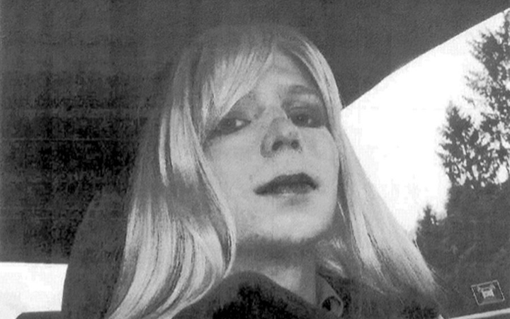 An undated photo provided by the U.S. Army of Pfc. Chelsea Manning, formerly known as Bradley Manning.