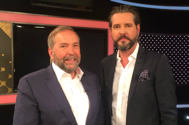 NDP Leader Tom Mulcair sat down with ET Canada to discuss everything from the recent polls to Republican candidate Donald Trump and even Justin Bieber.