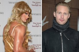Continue reading: Alexander Skarsgård shows up at movie premiere in drag