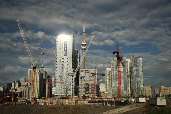 A rapid rise in condominiums across Toronto in recent years continues to worry some -- including the country's housing agency.