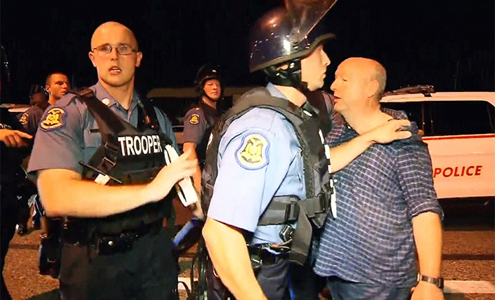CTV's Los Angeles bureau chief Tom Walters was charged with interfering with a police officer after being arrested while covering the Ferguson protests last year.