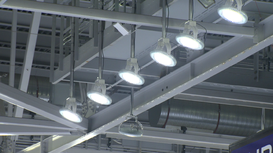 A file photo of some LED lights.