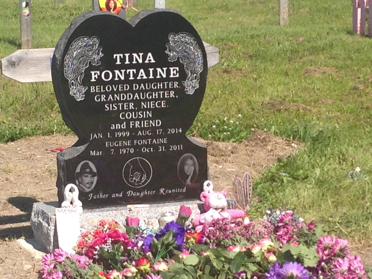 Tina Fontaine's body was found in the Red River in Winnipeg in 2014.