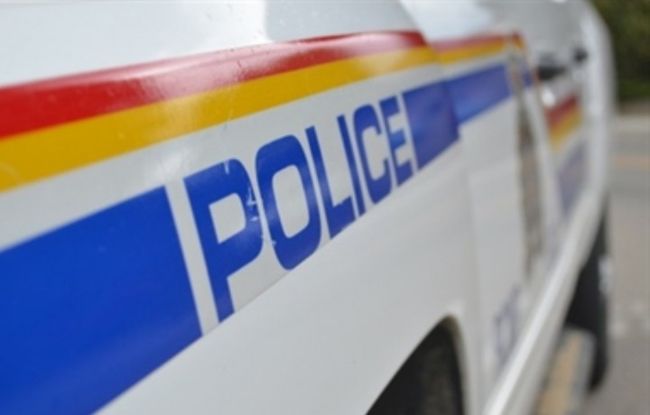 A woman was injured in a two vehicle crash north of Calgary on Friday.
