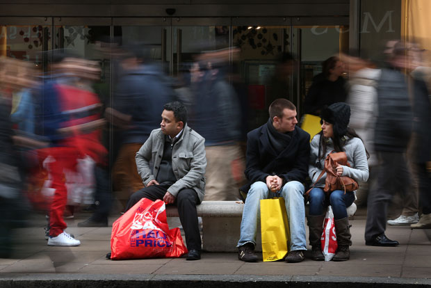 Consumer spending accounts for about half of all economic output in Canada, TD Economics says.
