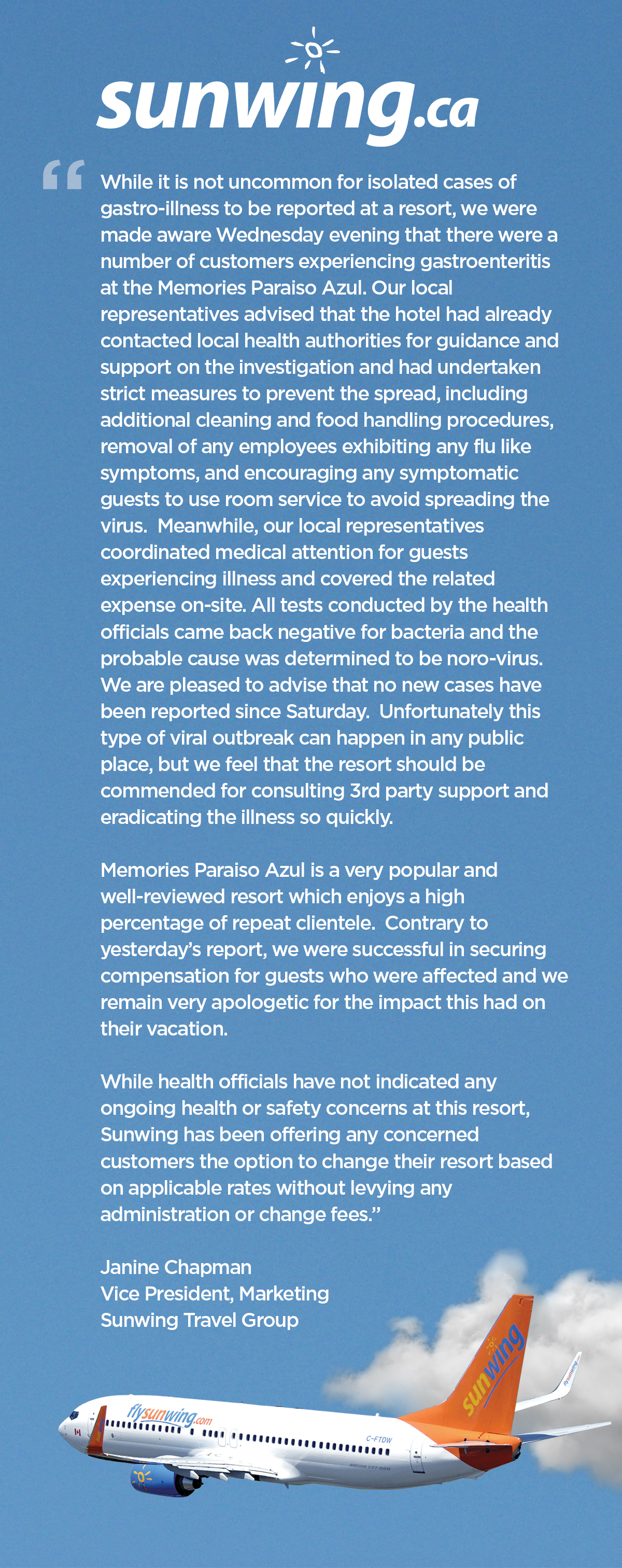 SUNWING_STATEMENT
