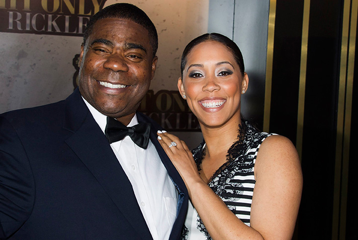 In this Tuesday, May 6, 2014, file photo, Tracy Morgan and Megan Wollover attend an event in New York.
