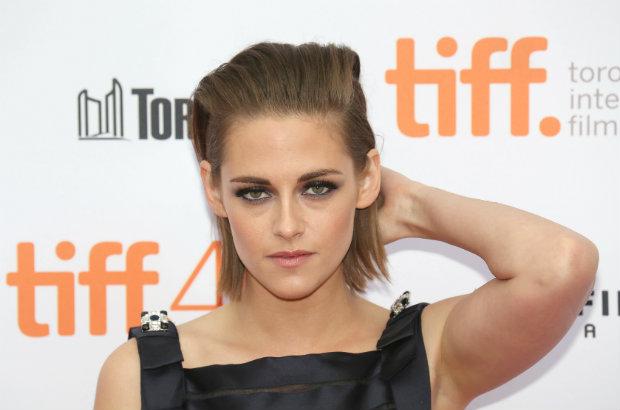 Kristen Stewart on the red carpet at the Toronto International Film Festival.