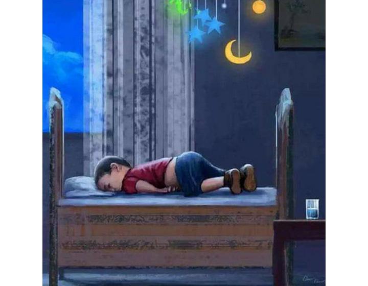 Artists shared editorial cartoons mourning Alan Kurdi and his brother.