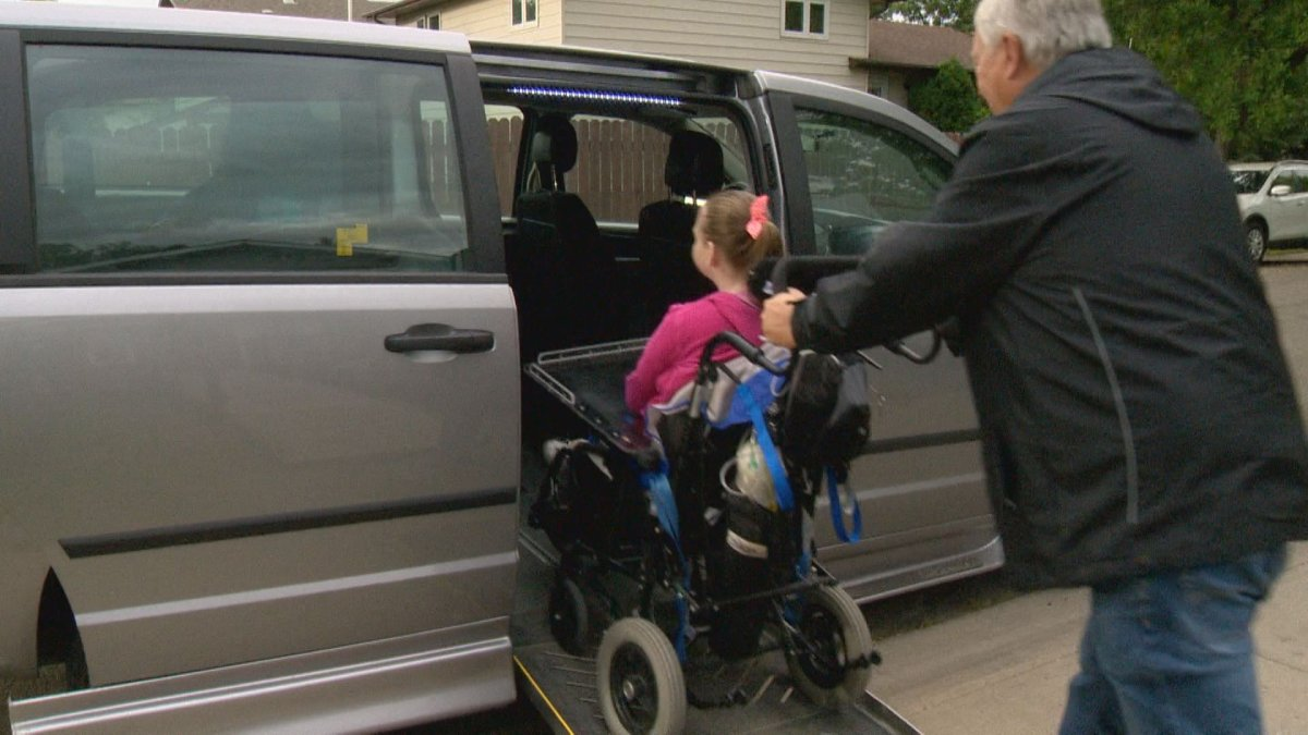 Regina mom frustrated with transportation for daughter needing special care - image
