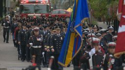 Continue reading: Ceremony honours fallen Calgary firefighters