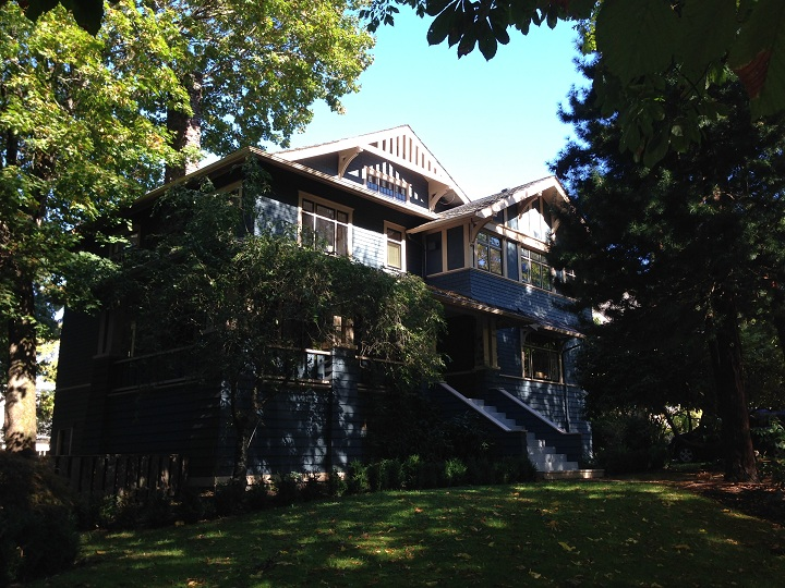 A heritage home in Shaughnessy, a neighbourhood in Vancouver.