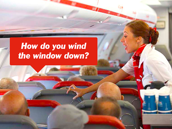 'How do you wind the window down?' Airline reveals most outrageous requests by passengers - image