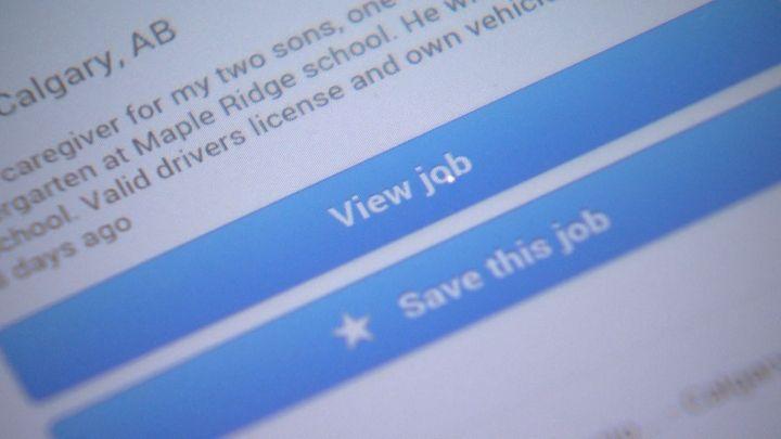 Job scam file
