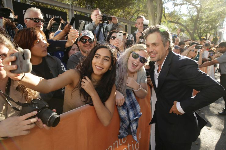 Mark Ruffalo at the  'Spotlight' Premiere, Toronto International Film Festival, Sept. 14, 2015.