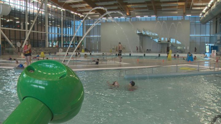 The pool at the Meadows Community Recreation Centre in southeast Edmonton.