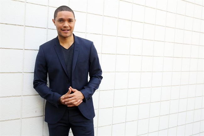 Noah arrives at 'Daily Show' ready 'terrified'