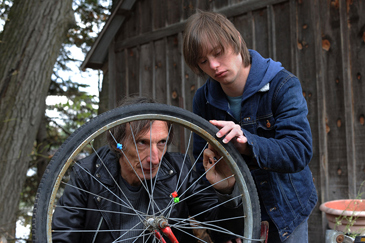 Julian Richings and Dylan Harman in a scene from 'The Rainbow Kid'.