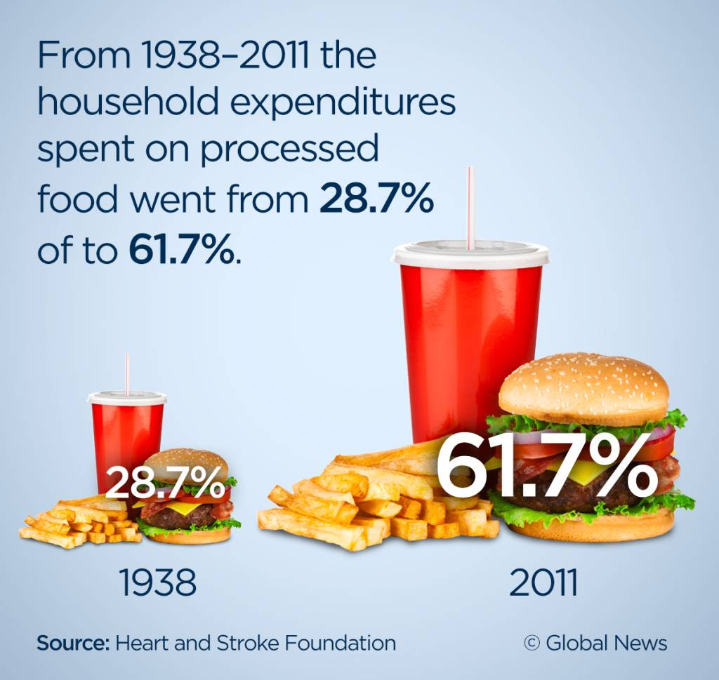 Processed Food Infographic