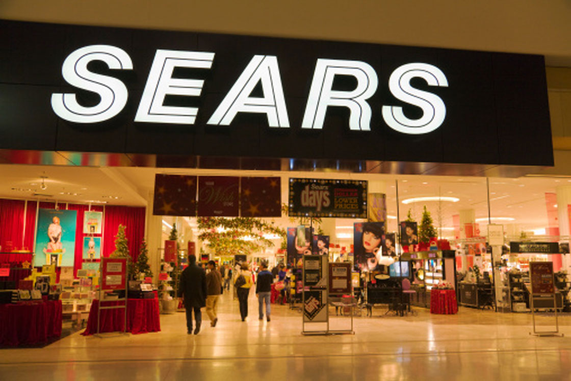 """Sales at existing locations have turned positive at """"core"""" Sears Canada outlets this summer, the retailer says, breaking a years-long slide."""