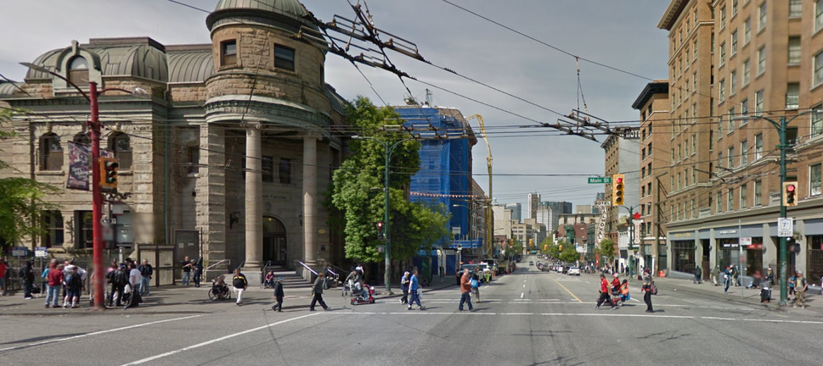 The Carnegie Centre is in the heart of the DTES.