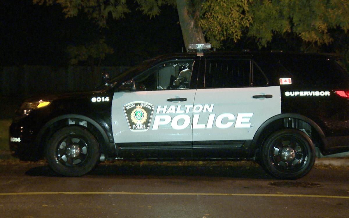 File photo of a Halton Regional Police cruiser.