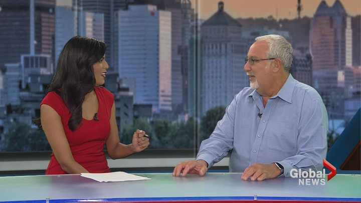 Famed event promoter, Sheldon Kagan , stops by Focus Montreal to talk about the incredible donation he made to Vanier College earlier this week. Saturday, Oct. 3, 2015.