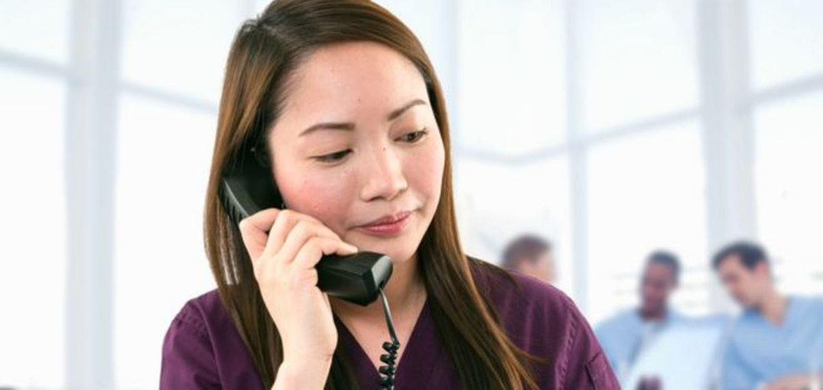 Crisis hotline for nurses attacked at work - image