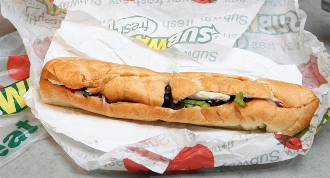 Subway has filed a lawsuit over a CBC report that claimed lab tests found the sandwich chain's chicken products contained high levels of soy.
