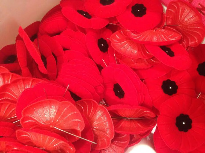 The 15 day poppy campaign inn Saskatoon runs until Remembrance Day.