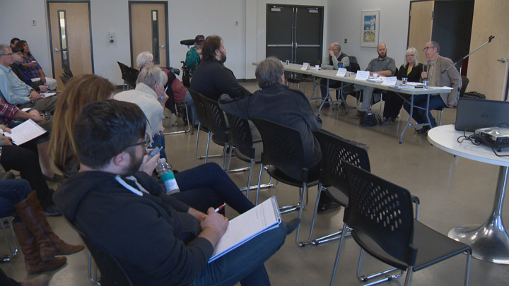 Poverty awareness week in Saskatoon kicks off with a panel discussion about housing needs.