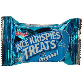 Police investigate a report of a paper clip found in a Kellogg's Rice Krispies Treats bar.